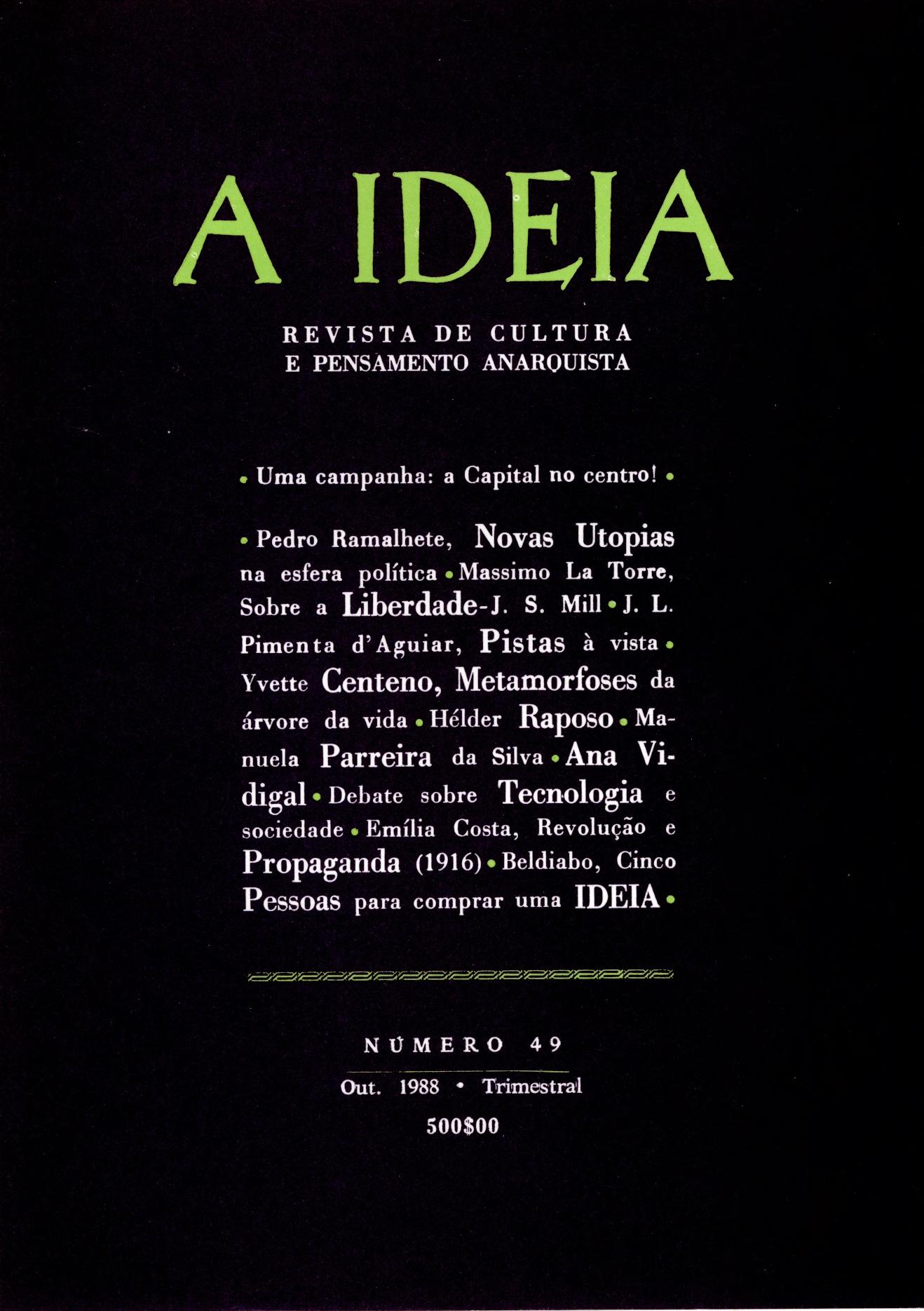 A_Ideia_49_capa