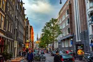 amsterdam architecture bikes buildings